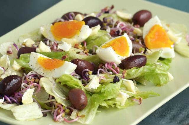 Low Carb Eiersalat